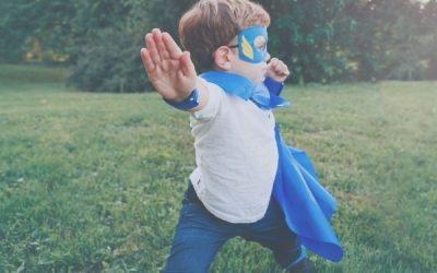 Grandchildren and superheroes